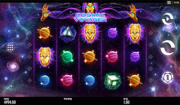 Main Gratis Slot Indonesia - Cosmic Voyager (Thunderkick)