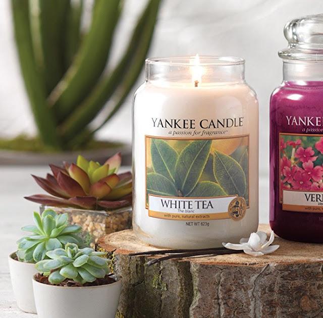 avis White Tea de Yankee Candle