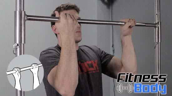 تمرين pull-ups