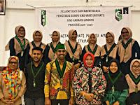 Pelantikan Korps HMI Wati (KOHATI) Cabang Ambon Periode 2019 - 2020.