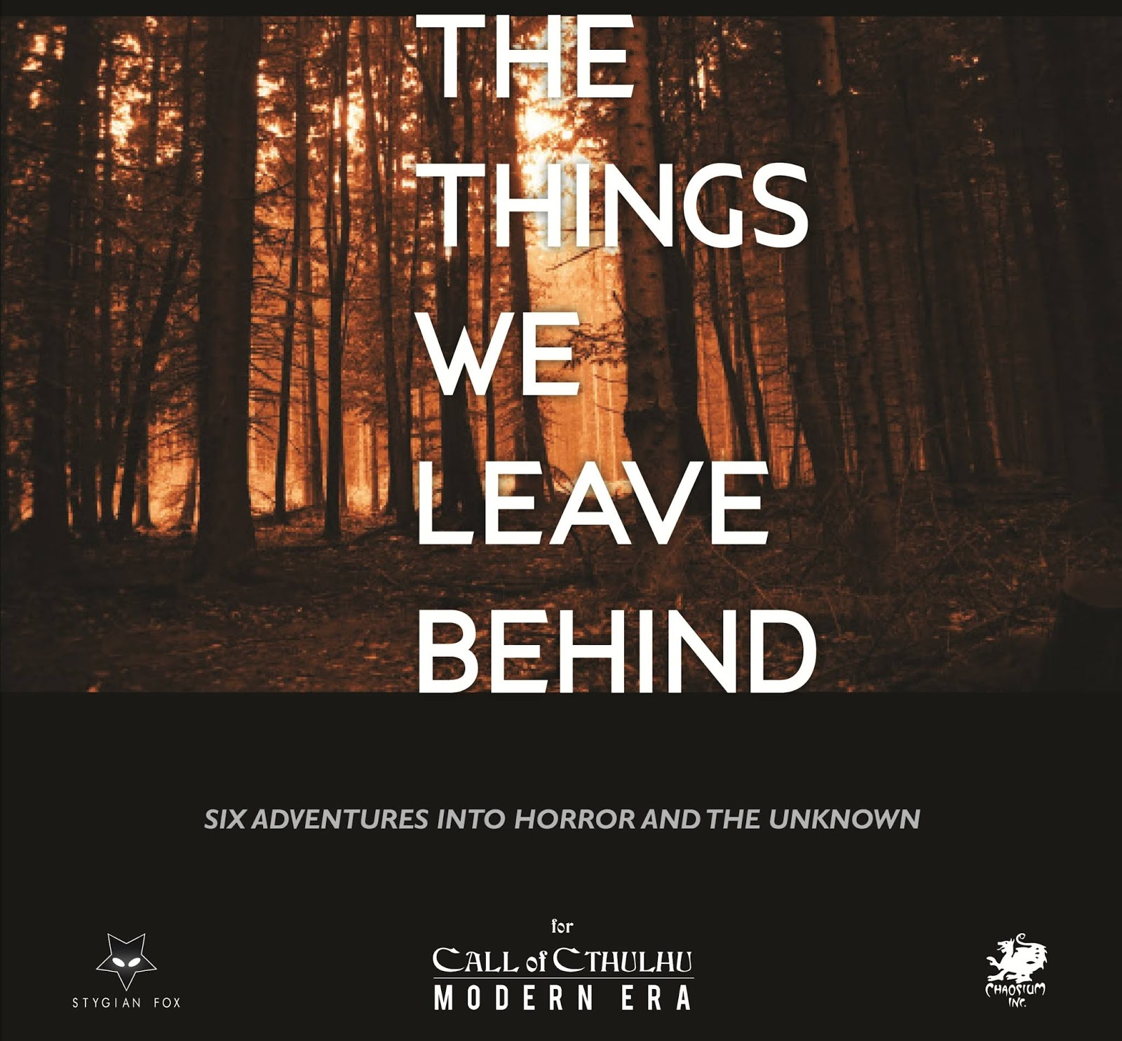 [Zew Cthulhu] The Things We Leave Behind - recenzja