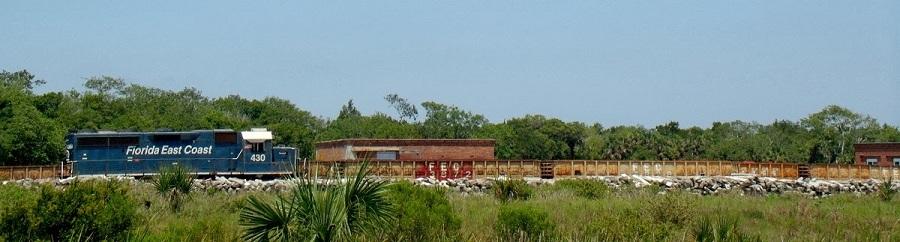 Tren de carga de la Florida East Coast Railway