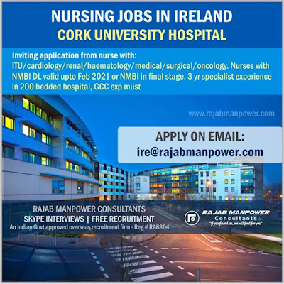 Nursing jobs in Ireland