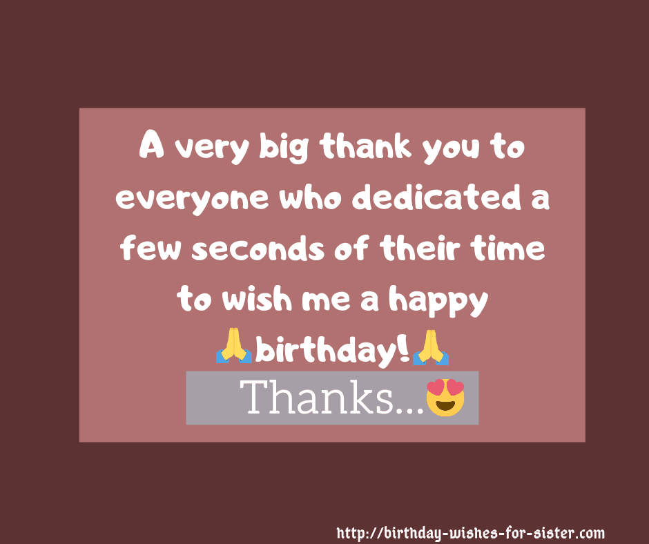 Thank You For Birthday Wishes.41 Best Hottest Thank You Replies To Birthday Wishes In