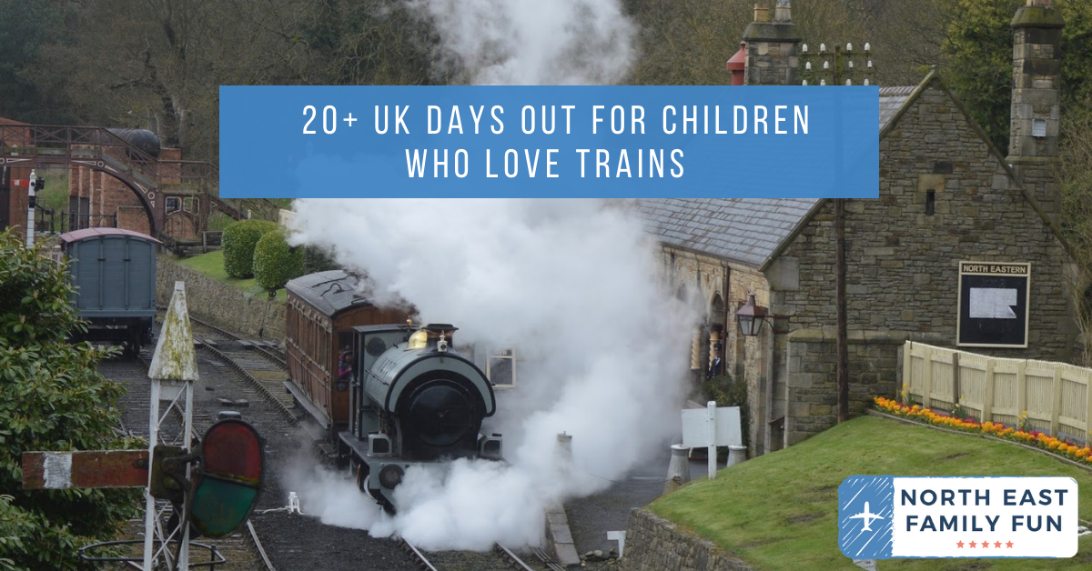 Top 10 train themed days out across North East England