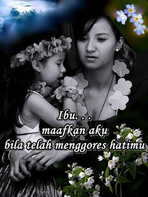 Gambar bunga dengan kata kata untuk ibu