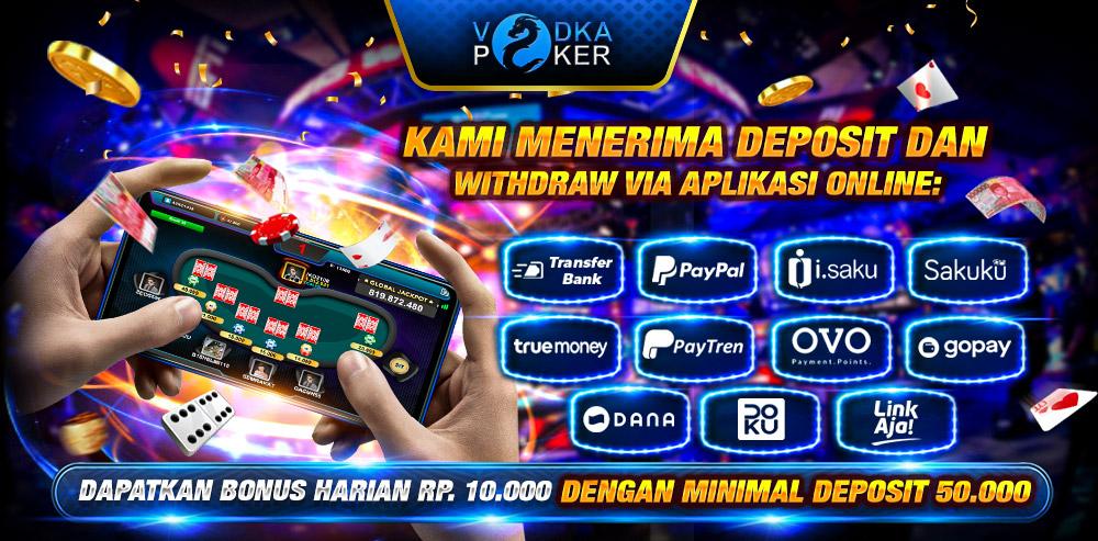 VODKAPOKER | POKER ONLINE INDONESIA TERPERCAYA