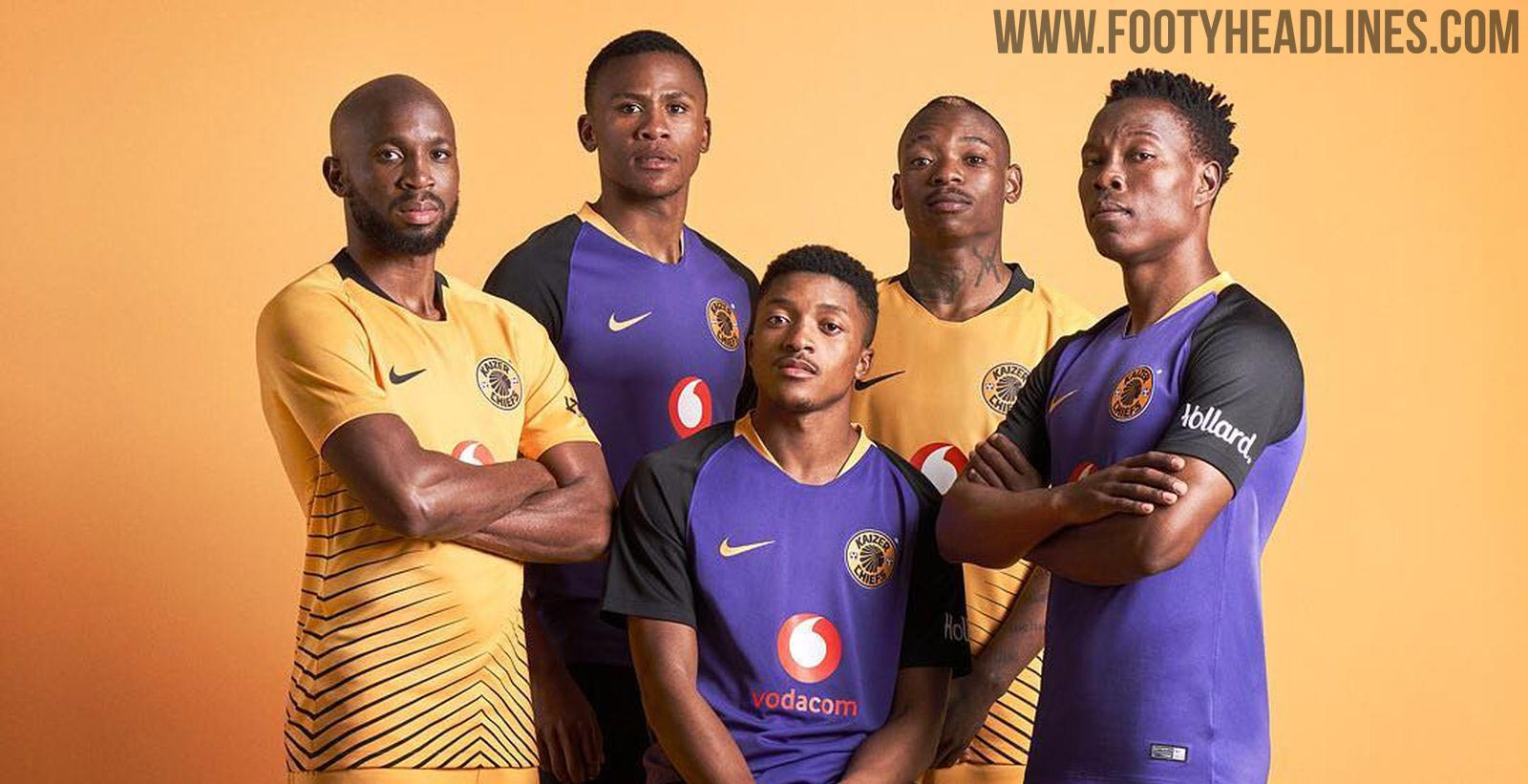 Kaizer Chiefs: Unique Nike Kaizer Chiefs 18-19 Home & Away Kits Released