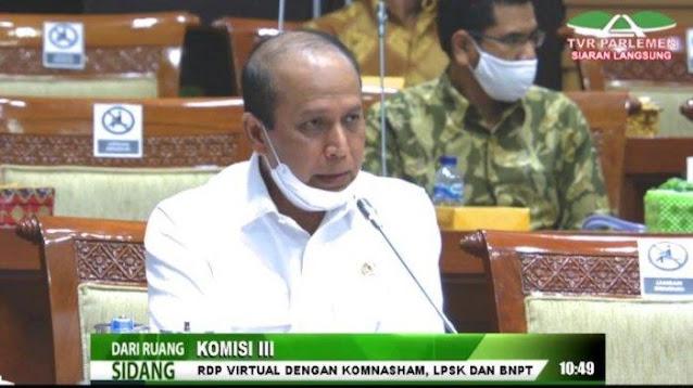 Boy Rafli Amar Dikabarkan Dipilih Jokowi Jadi Calon Kapolri, Ini Respon Komisi III DPR