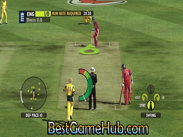 Ashes Cricket 2009 Compressed PC Game With Crack Download