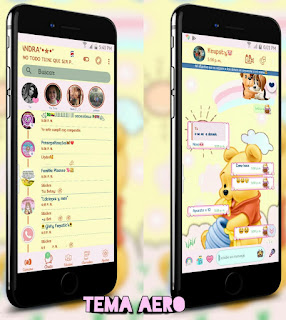 Teddy Bear Theme For YOWhatsApp & Aero WhatsApp By Ale