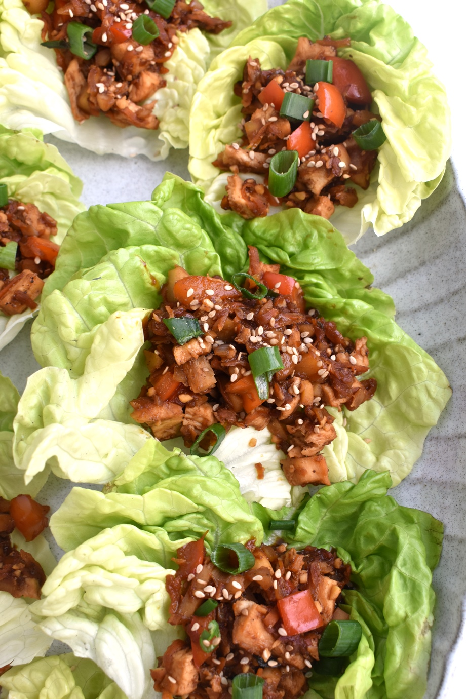 Healthy PF Chang's Lettuce Wraps