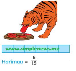 Bagian daging yang dimakan harimau adalah 6/15 www.simplenews.me