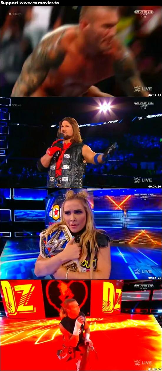 WWE Smackdown Live 19 September 2017 HDTV 480p 300MB