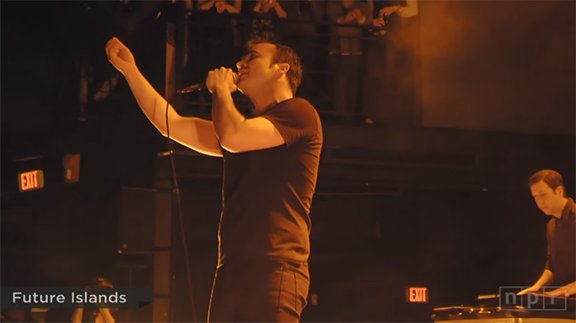 I Don't Need A Place of Worship I Just Revel In the Church Of Future Islands with Sam at the Pulpit