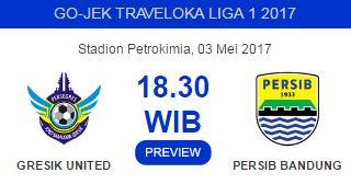 Persegres Gresik vs Persib Bandung