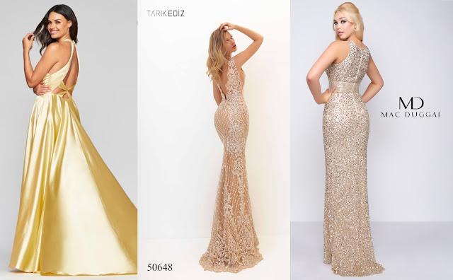 Gold Prom Dresses