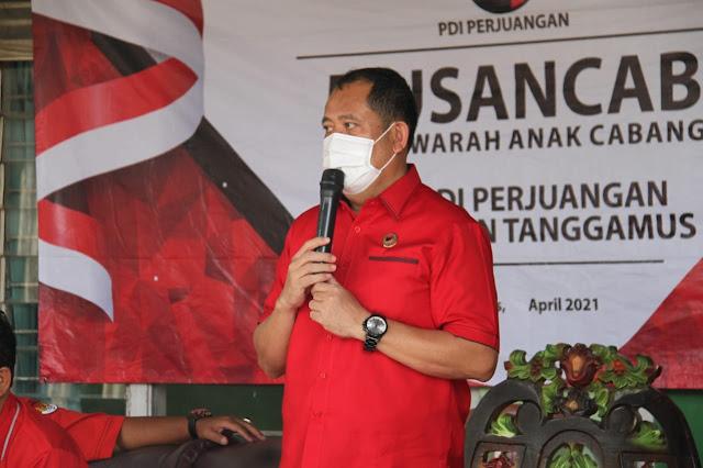 Musancab PAC PDIP Berakhir di Kecamatan Bulok, Rangkul Semua Golongan, Merahkan 2024, Tampilnya Banteng Muda