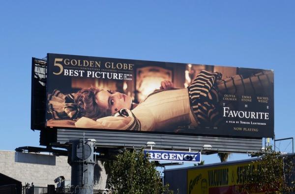 Favourite Golden Globe nominee billboard