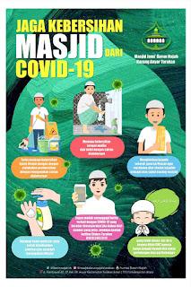 Jaga Kebersihan Masjid dari COVID-19 - Tarakan Info