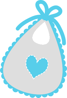 Bibs of the Baby  on the Go Clipart.