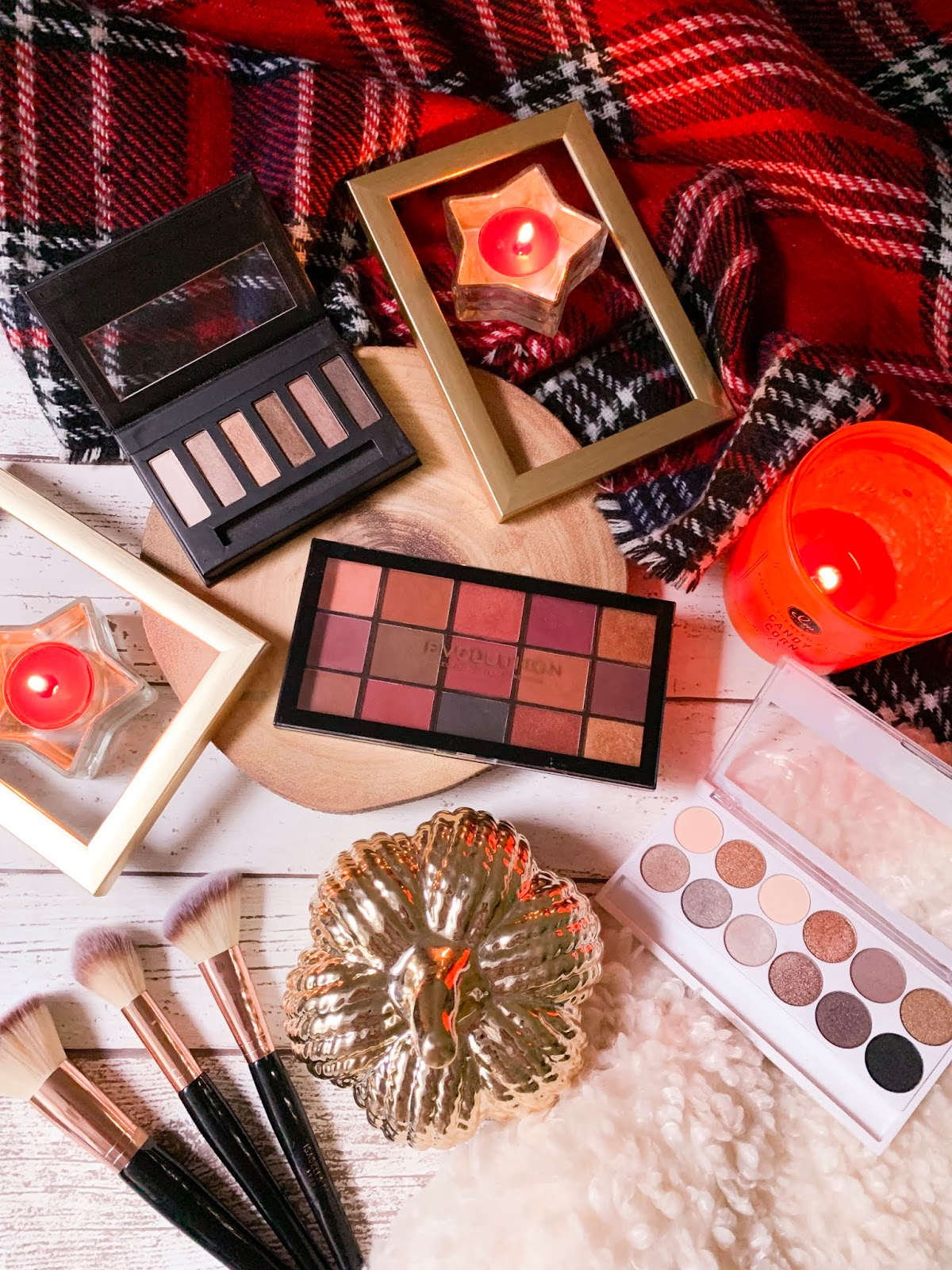 Top 3 Affordable Palettes For Autumn Flatlay