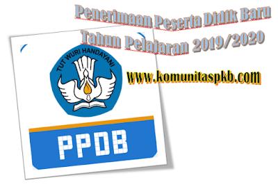 Surat Edaran Pelaksanaan PPDB Tahun 2019