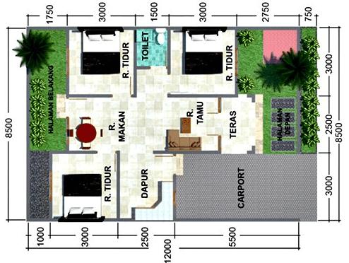17 Desain Dena Rumah Minimalis Modern Abdulrochim Com