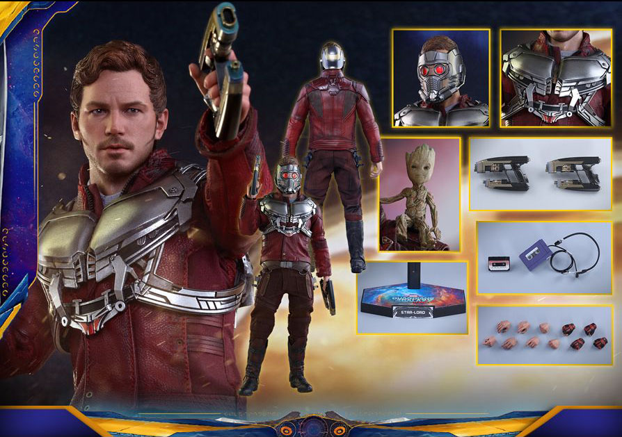GUARDIANS OF THE GALAXY VOL.2 - STAR-LORD (MMS 420)  10