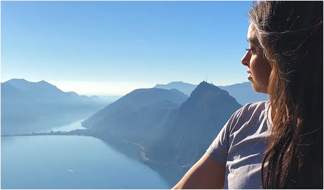 Hiking in Gorgeous Lake Lugano, Switzerland