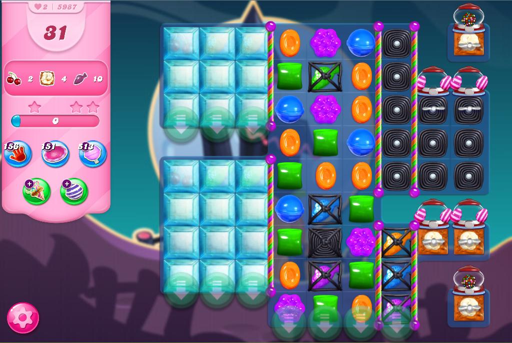 Candy Crush Saga level 5987