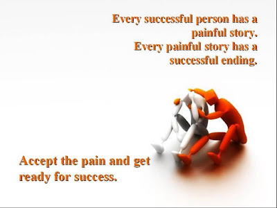 Pain To Success Quotes