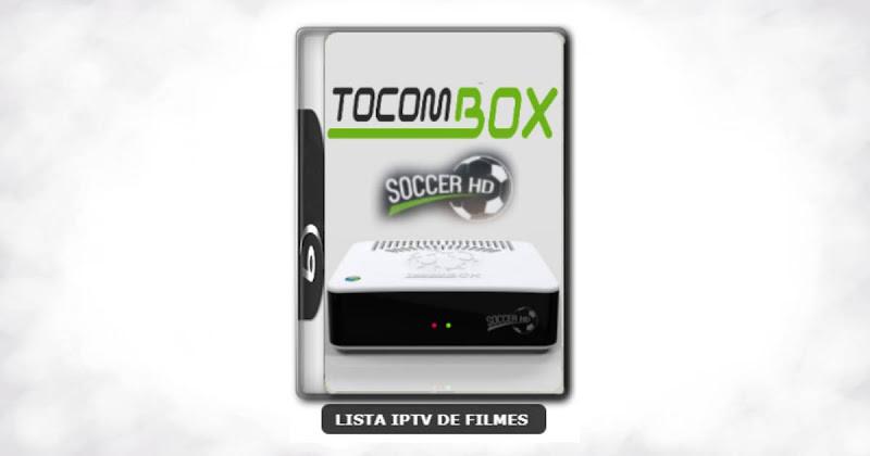 Tocombox Soccer HD Nova Atualização Satélite SKS Keys 61w ON V1.029