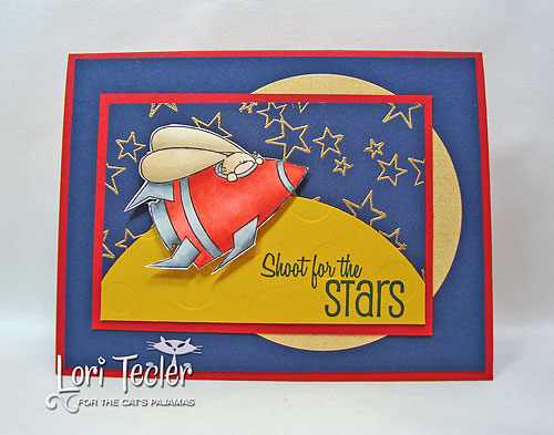 Shoot for the Stars-designed by Lori Tecler-Inking Aloud-stamps from The Cat's Pajamas