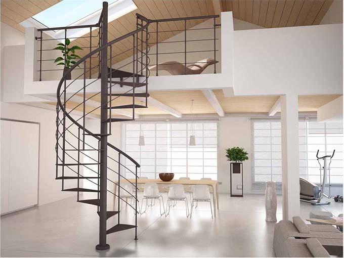 Thợ làm cầu thang sắt ở hải phòng, Xoắn ốc, Nghệ Thuật Theo yêu cầu giá rẻ chuyên nghiệp uy tín