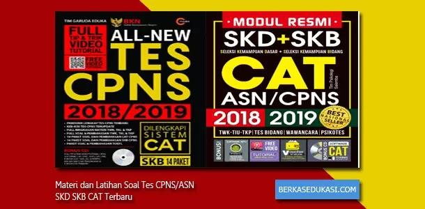 Materi dan Latihan Soal Tes CPNS-ASN SKD SKB CAT Terbaru