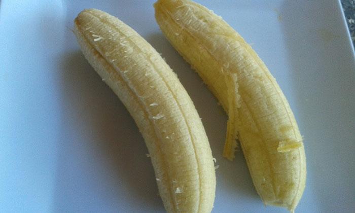 Hidratação caseira: Banana e óleo de coco