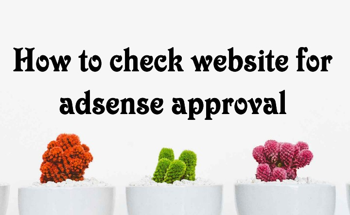 How to check website for adsense approval