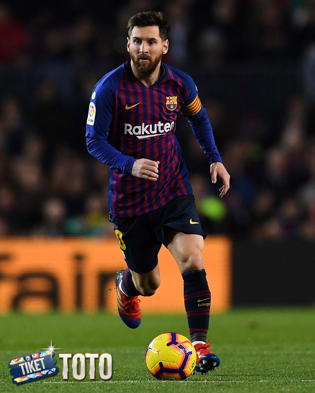 Mantap! Lionel Messi Samai Rekor Pele 2020