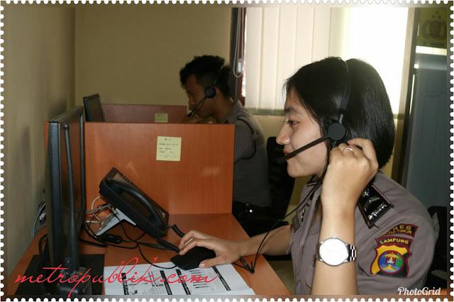 Tingkatkan Pelayanan Polres Lampung Timur Luncurkan Call Center