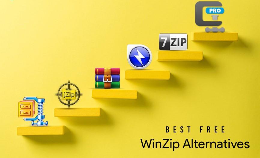 أفضل 10 بدائل مجانية لبرنامج WinZip