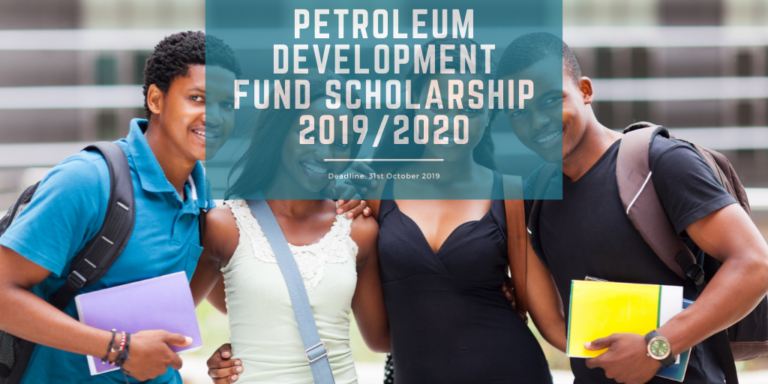 Petroleum Development Fund Scholarship 2019/2020 Nigeria