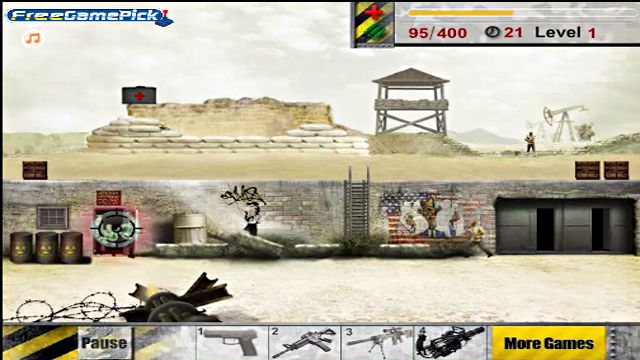 Anti Terror Mission - Image du Jeu