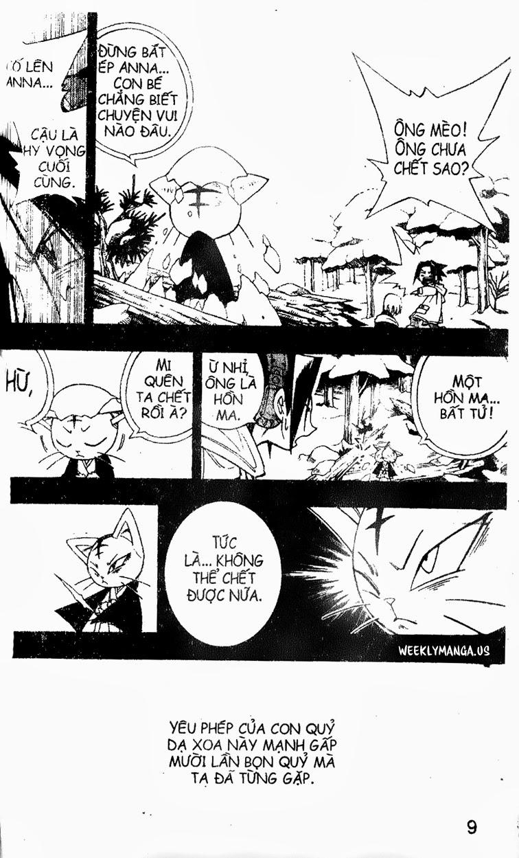 Shaman King [Vua pháp thuật] chap 172 trang 14