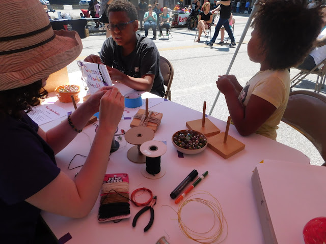 Beck Center of Arts craft at Lakewood Arts Festival