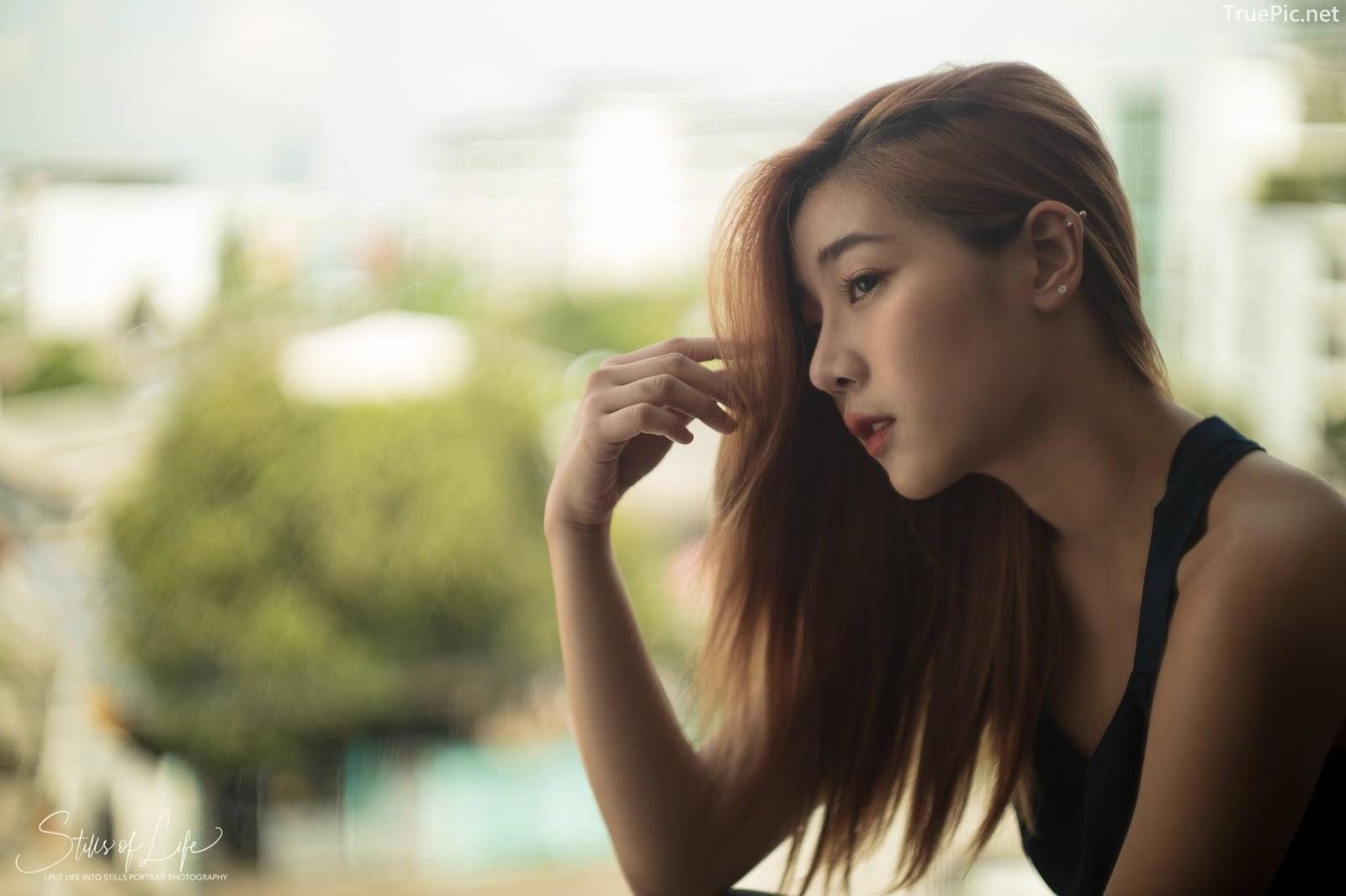 Thailand model Bunnada Na Ranong - Waiting for you - Photographer Apisak Kanjanapusit