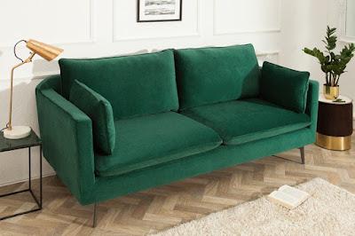 sedačky do obývačky, zamatové sedačky, pohovka do obývačky