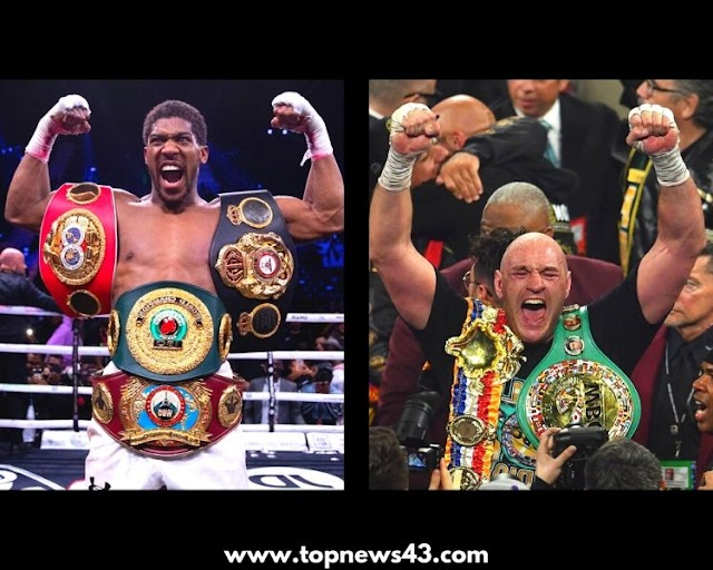 Joshua & Tyson Agree On Biggest Fight In British Boxing History
