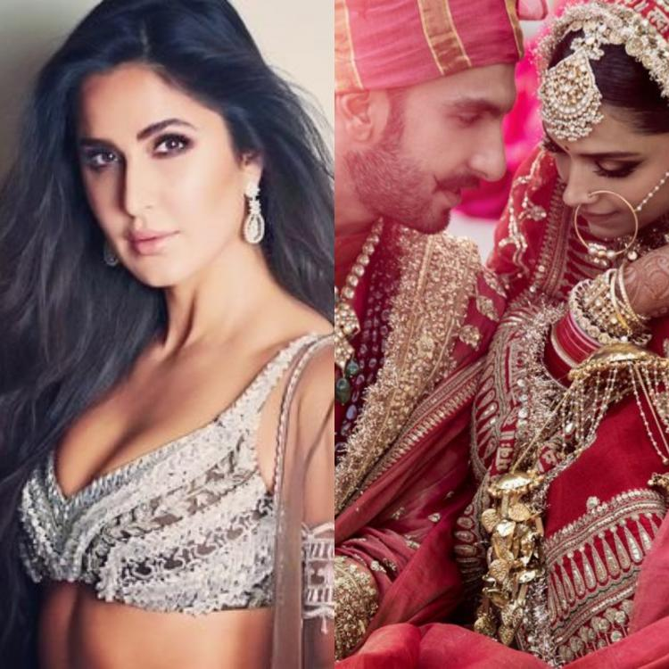 Deepika Padukone Ranveer Singh Wedding: Katrina Kaif wishes the newlyweds in the sweetest way