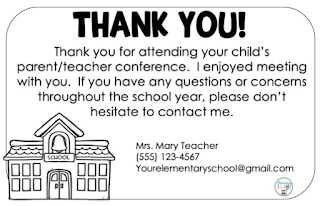 Use these thank you cards to help cultivate a positive relationship with parents.